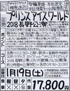 プリンスアイスワールド2018長野公演