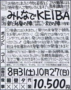 みんなでKEIBA新潟夏の陣(糸魚川特別)