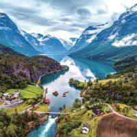 ノルウェー・フィヨルドの世界